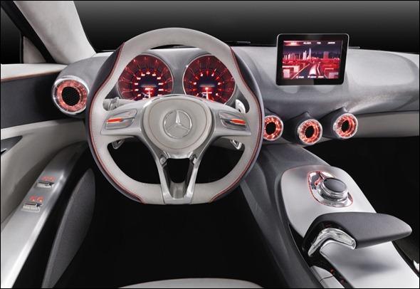 Mercedes revela conceito do Novo Classe A para Xangai