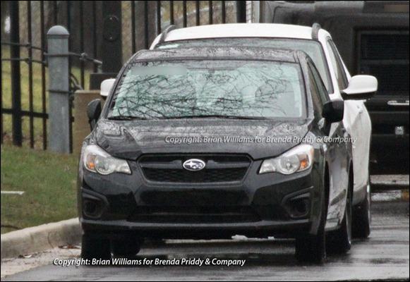 Segredo: Novo Subaru Impreza 2012