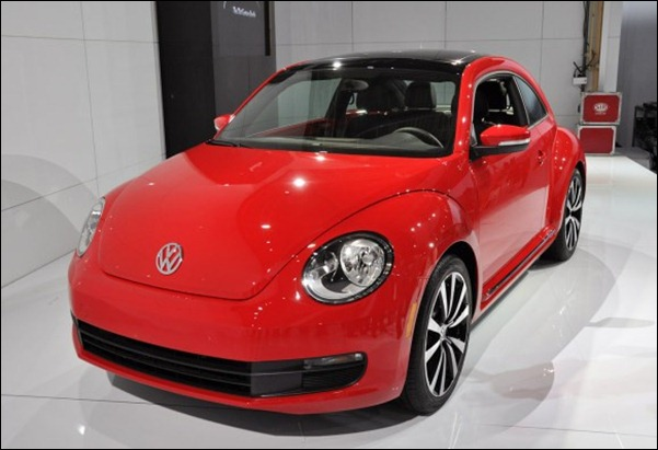 Imagens reais do Novo VW Beetle 2012