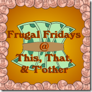 Frugal Friday Button