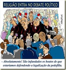 Justino de Sousa Junior e Antonio Julio de Menezes Neto    eições e a igreja no brasil