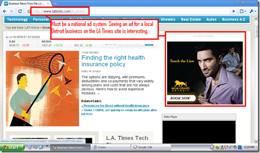 LA Times Ad