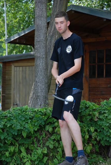 Martin mit seinem Sportgerät