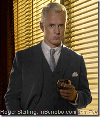 John Slattery on Mad Men