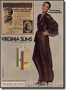 Virginia Slims robe