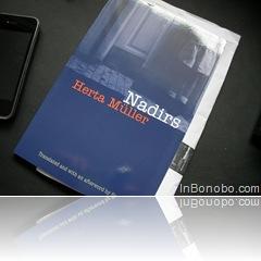 Nadirs by Herta Mueller - exact cum a sosit, nou-nouta, cu invoice-ul ca semn de carte.