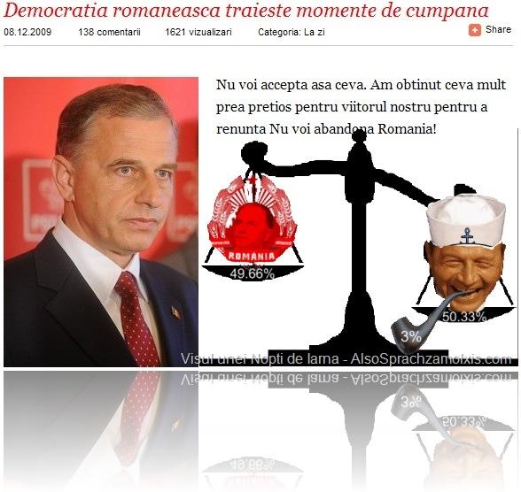 Moment Cumpana Geoana Basescu