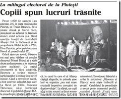 Adevarul ImpactNews - 2004, Pumnul lui Basescu