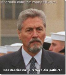 Emil Constantinescu se retrage