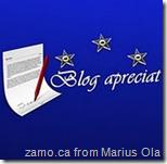 Blog apreciat