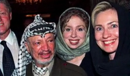 Clinton and Arafat