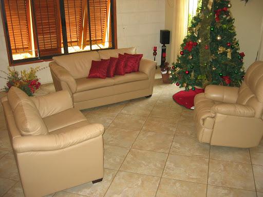 3-Piece Leather Living Room Set