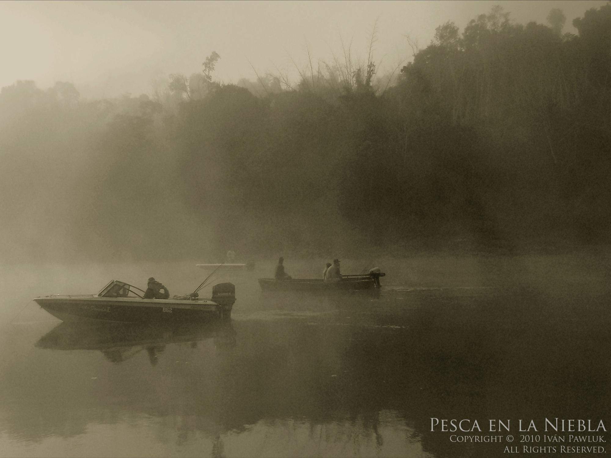 Pesca en la niebla  Autor: Ivan Pawluk