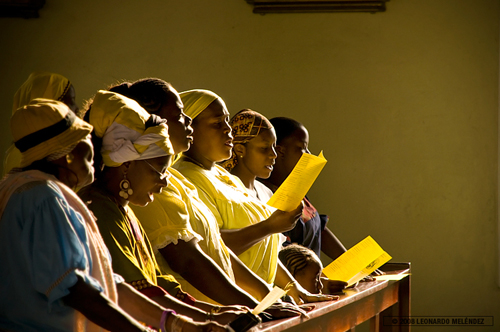 Yurumei at La Inmaculada Church on Garifuna Settlement Day 2008