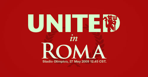 Manchester United in Roma!