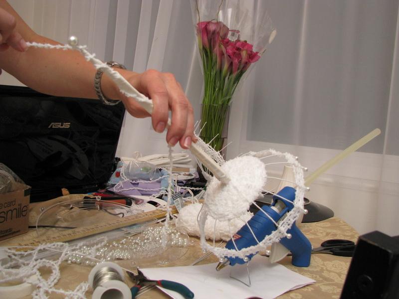 Как сделать каркас из проволоки для букета