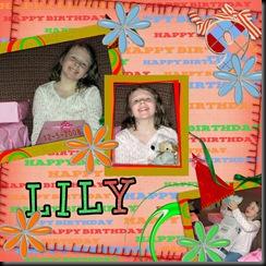 Lily Birthday