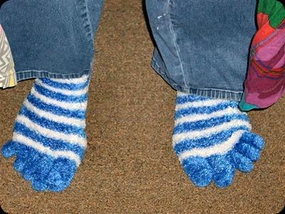 Jenny's toe socks