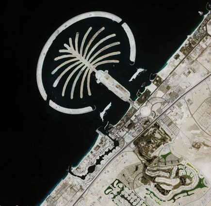 ig21 above palmisland uae 02 14 Most Amazing Satellite Pictures You'll Ever Seen Before