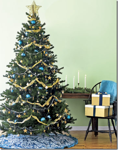 beautiful themed trees with consistent color schemes and nothing to distract your eye designer christmas trees - Designer Christmas Trees
