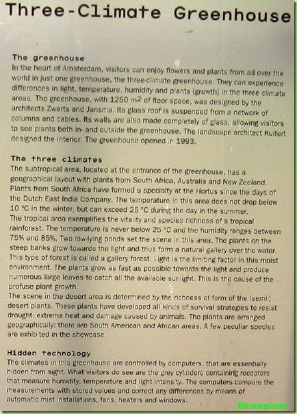 Greenhouse a tre climi serra