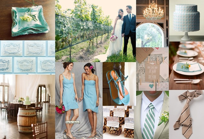 Reader Request Inspiration Board: Something Blue