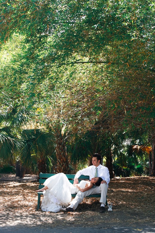 Southern California Botanical Garden Wedding