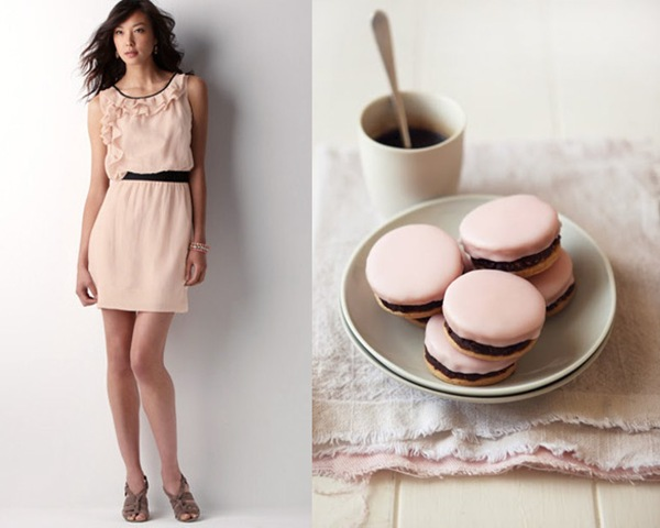 Perfect Match: Apricot Pink & Chocolate