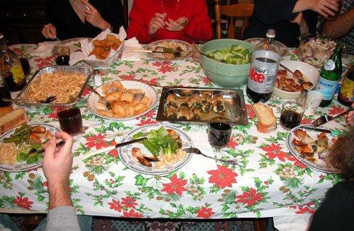 Italian christmas eve dinner the traditional christmas eve