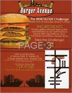 Burger Avenue 3