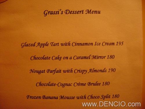 Grassi's Menu09