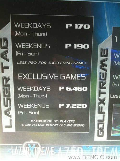 Lazer Xtreme Alabang Town Center1