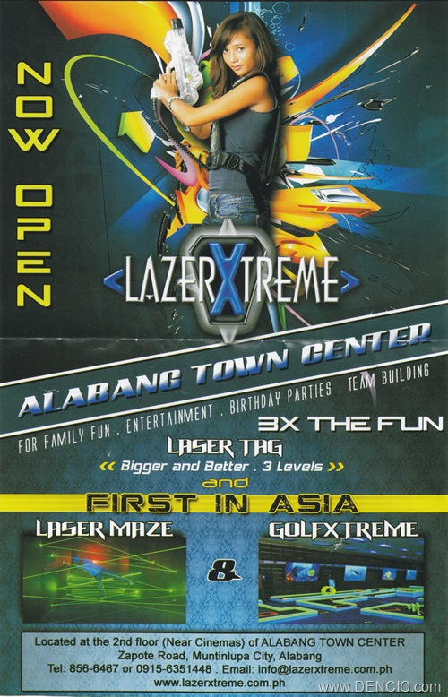 Lazer Xtreme Alabang Now Open