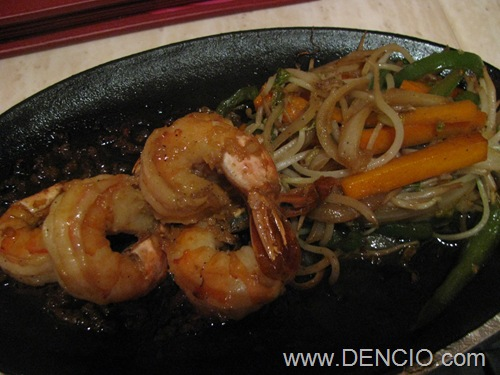Prawn Teppanyaki P315++