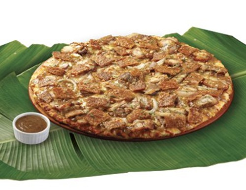 Pizza Hut Lechon Pizza