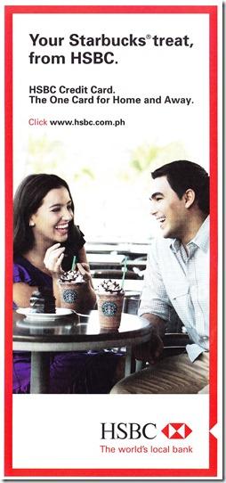 HSBC Starbucks Promo 1