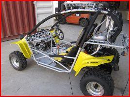 250cc Sahara XT-2 Offroad Dune Buggy