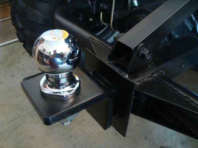 300cc 2WD Farm Ute UTV Rear Towbar Ball