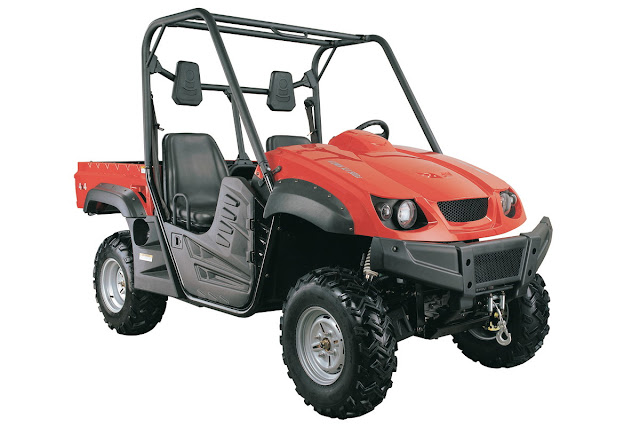 Atomik XUV 500 UTV Farm utility - Front right