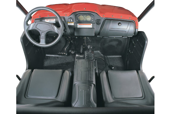 500cc 700cc 4WD Farm Utility Vehicle UTV Ute Interior