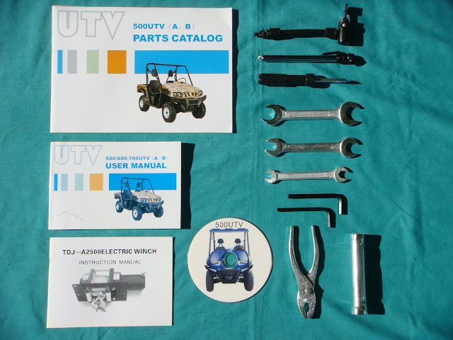 Hisun Farm Utility Parts Manual Catalog