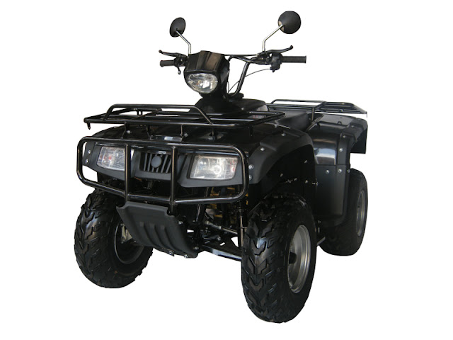 300cc 2WD Chain Drive Farm Quad ATV Aircooled Dash