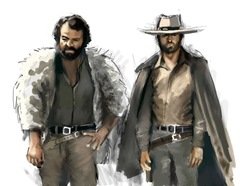Bud_Spencer_and_Terence_Hill_by_falcocanning
