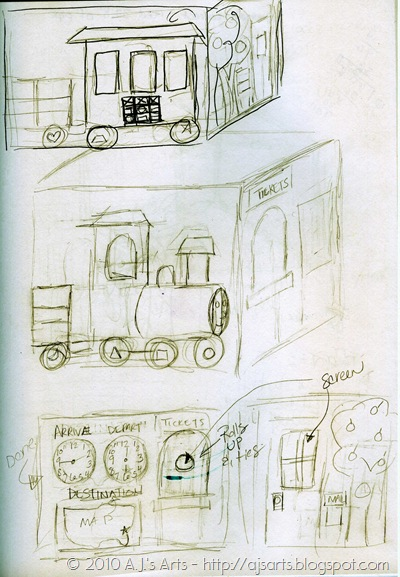 Felt Tent Train Sketches001