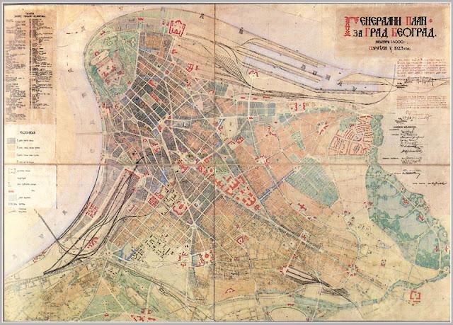 Generalni plan Beograda 1923