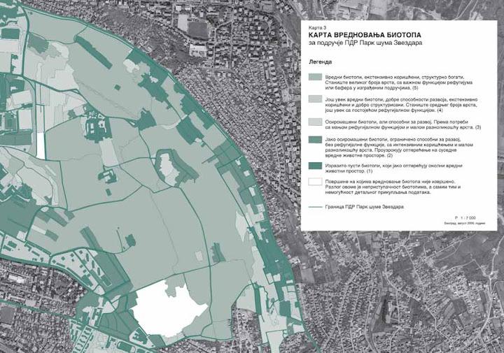 Kartiranje biotopa Zvezdarske šume