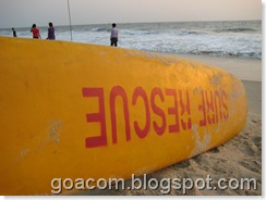 surf life rescue Goa