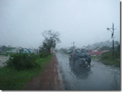 Goa rainfall