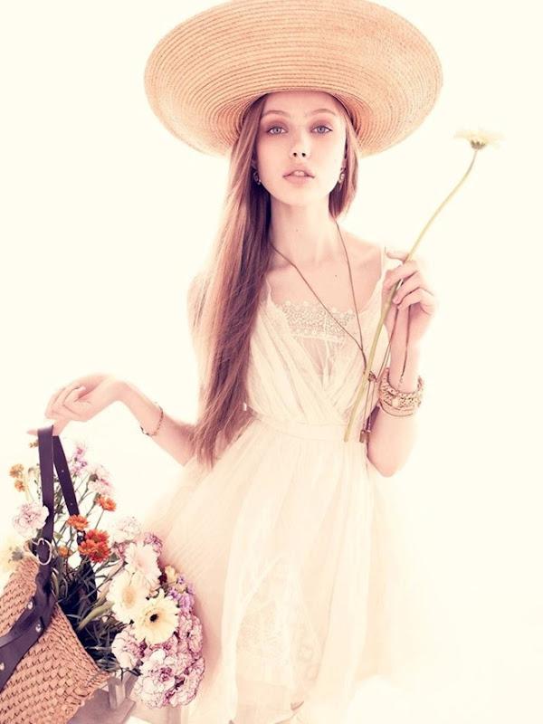 Frida Gustavsson Vogue Nippon @ Bette's Vintage Line