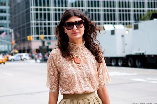Giovanna Battaglia @ Bette's Vintage Line